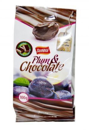 Sunvita Csokoládéval bevont aszalt szilva 100g