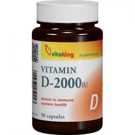 Vitaking D-vitamin 2000NE 90 db