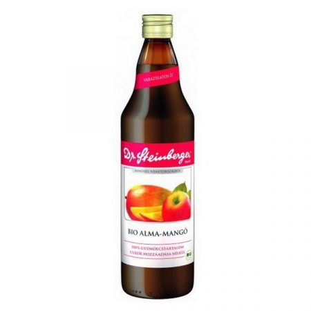 Dr. Steinberger Bio alma-mangó gyümölcslé 750 ml