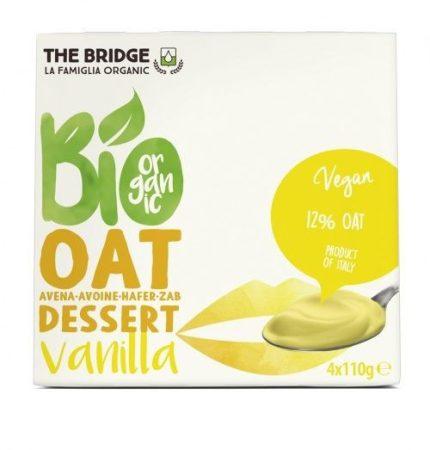 The Bridge Bio Zabdesszert vaníliás 4x110 g