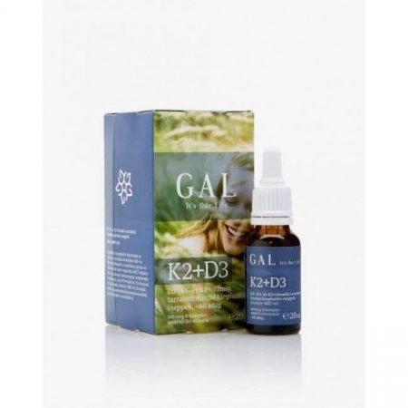 GAL K2+D3 vitamin (500 mcg K-komplex + 4000 NE D3) 60 adag 20 ml