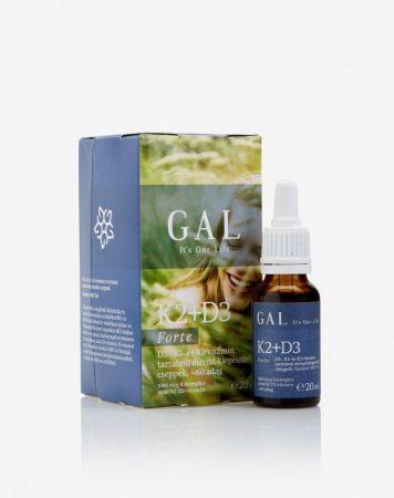 GAL K2+D3 vitamin Forte (1000 mcg K-komplex + 4000 NE D3) 60 adag 20 ml