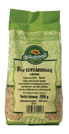 Biopont Bio Szezámmag szárított 200 g
