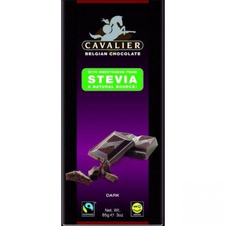 Cavalier belga étcsokoládé stevia édesítőszerrel 85g