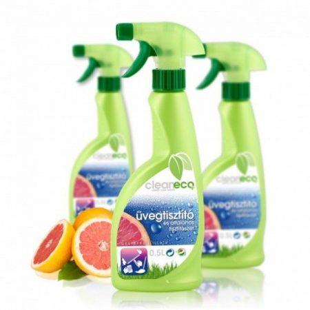 Cleaneco Üvegtisztító pumpás 500ml