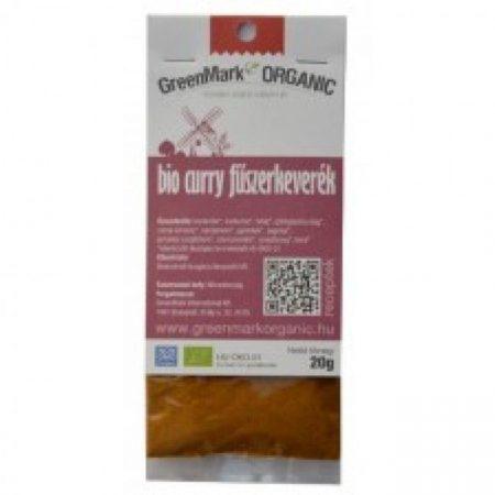 Greenmark Bio Curry fűszerkeverék 20g