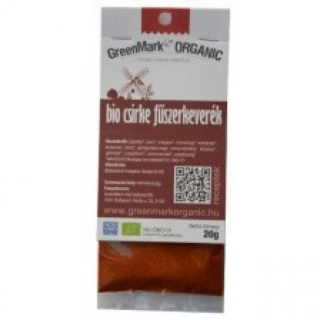 Greenmark Bio Csirke fűszerkeverék 20g