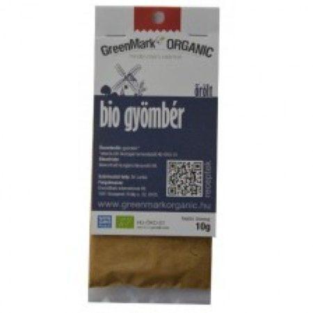 Greenmark Bio őrölt gyömbér 10g