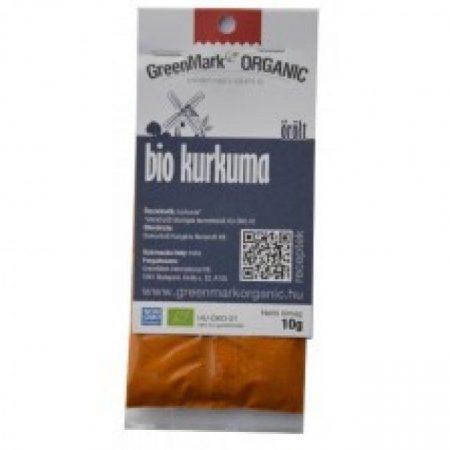 Greenmark Bio őrölt kurkuma 10g