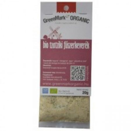 Greenmark Bio tzatziki fűszerkeverék 20g