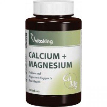 Vitaking Calcium (500mg)+Magnézium (250mg) kapszula 100 db