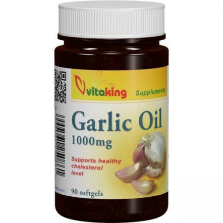 Vitaking Fokhagymaolaj 1000mg gélkapszula 90db