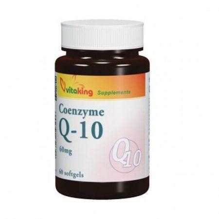 Vitaking Koenzim Q-10 60mg tabletta 60db