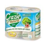 Grazie Natural Basic 2 rétegű öko háztartási toalettpapír 4 tekercs