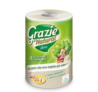 Grazie Natural 3 rétegű öko háztartási törlőpapír 1db