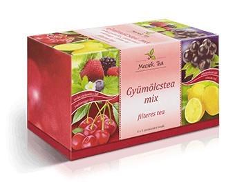 Mecsek Gyümölcstea Mix 4x5x2g