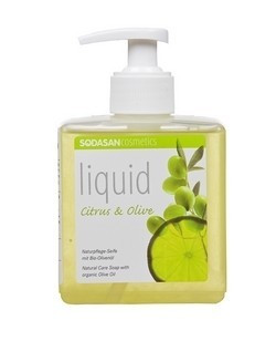 Sodasan Bio folyékony szappan citrom-olíva 300 ml