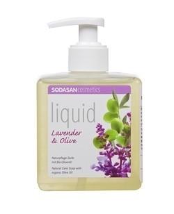 Sodasan Bio folyékony szappan levendula-olíva  300 ml