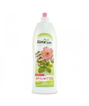 AlmaWin Öko Kézi mosogatószer vadrózsával és citromfűvel 1000 ml