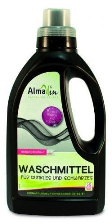 AlmaWin Öko folyékony mosószer koncentrátum sötét és fekete ruhákhoz 750 ml