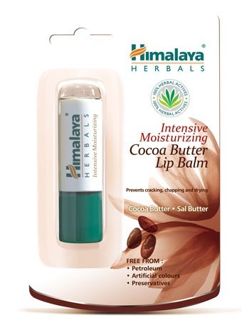 Himalaya Herbals Kakaóvajas intenzív hidratáló ajakbalzsam 4,5 g