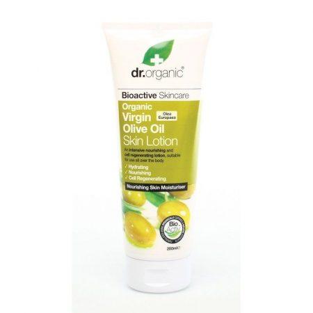 Dr. Organic Bio Olíva testápoló 200 ml