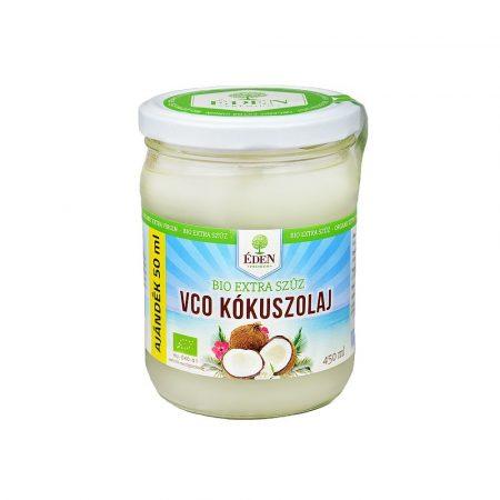 Éden Prémium Bio Extra VCO szűz kókuszolaj  450 ml