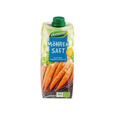 Dennree Bio Sárgarépalé 500 ml