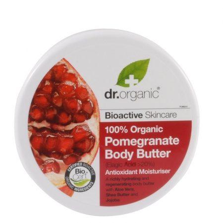 Dr. Organic Bio Gránátalma testápoló vaj 200 ml