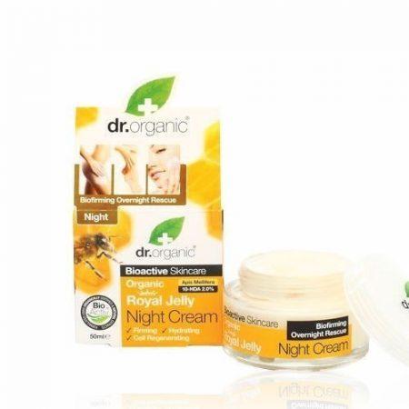 Dr. Organic Bio Méhpempő éjszakai krém 50 ml
