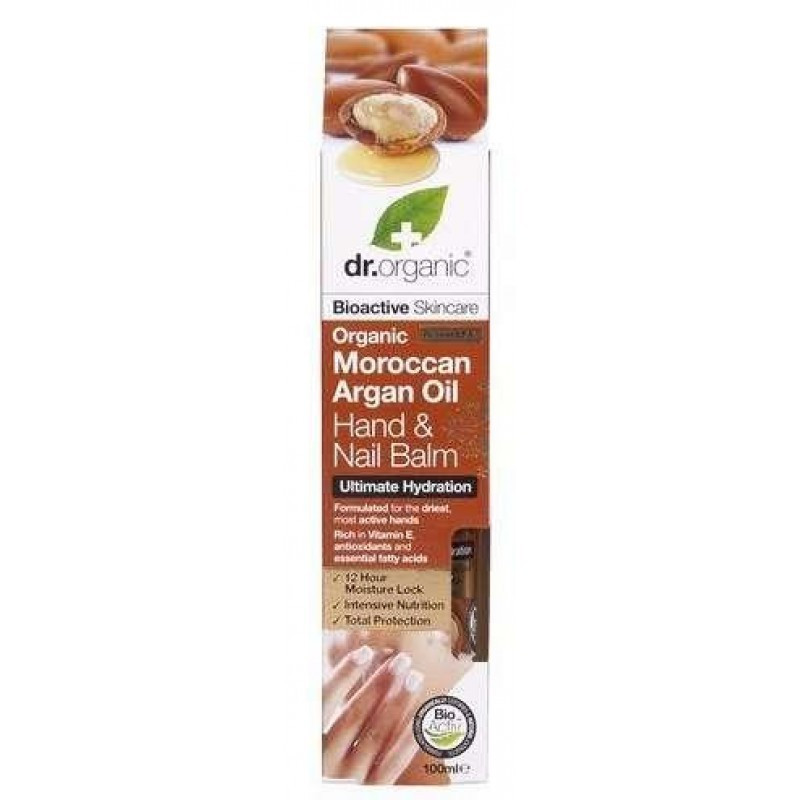 Dr. Organic Bio Argán olaj kéz- és körömápoló balzsam 100 ml
