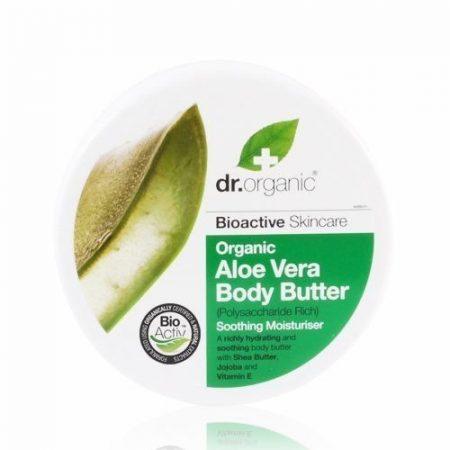 Dr. Organic Bio Aloe vera testápoló vaj 200 ml