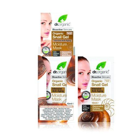 Dr. Organic Bioaktív csigagél öregedésgátló arcpakolás 10 ml
