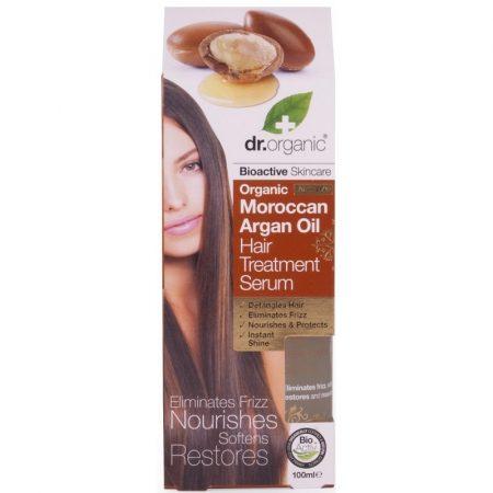Dr. Organic Bio Argán olaj hajápoló szérum 100 ml