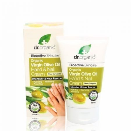 Dr. Organic Bio Olíva kéz- és körömápoló 125 ml