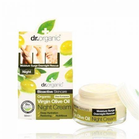 Dr. Organic Bio Olíva éjszakai krém 50 ml