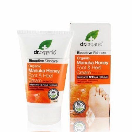 Dr. Organic Bio Manuka láb- és sarokápoló 125 ml