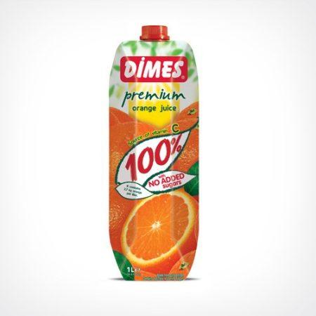 Dimes Prémium Narancslé 100 % 1000 ml