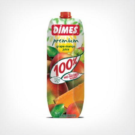 Dimes Prémium Mangó- és szőlőlé 100 % 1000 ml