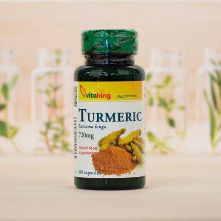 Vitaking Turmeric kurkuma kapszula 720 mg 60 db
