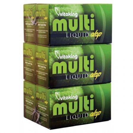 Vitaking Multi Liquid Alap Multivitamin gélkapszula 180 db