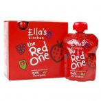 Ella's Kitchen The Red One bio piros gyümölcsös püré multipack 5x90 g