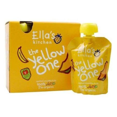 Ella's Kitchen The Yellow One bio sárga gyümölcsös püré 5x90 g