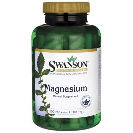 Swanson Magnézium 250 db kapszula