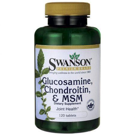 Glükozamin-Kondroitin-MSM 1000mg (120) kaps