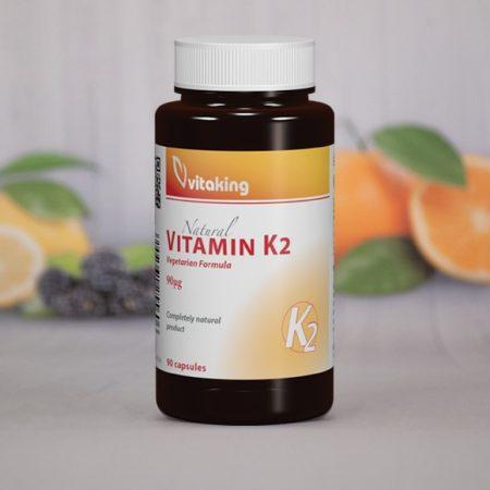 Vitaking K2-vitamin (90mcg) kapszula 90db