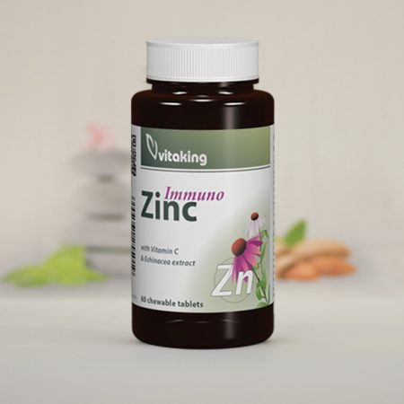 Vitaking Cink Immuno rágótabletta 60 db