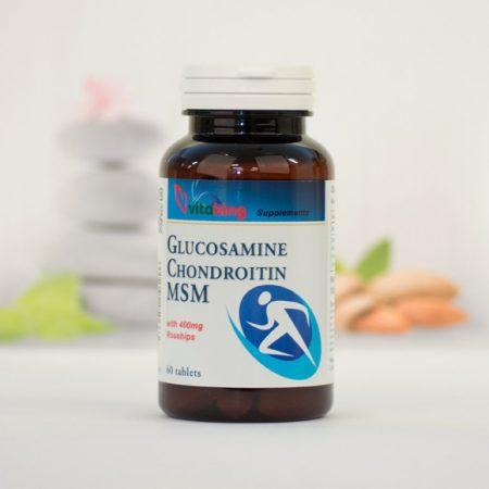 Vitaking Glükozamin-Kondroitin-MSM 60 db