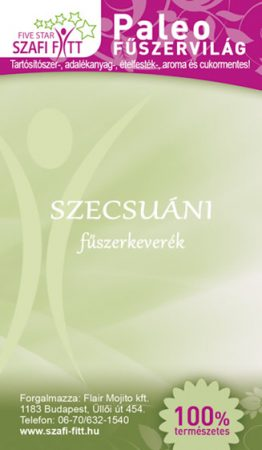 SZAFI REFORM PALEO SZECSUÁNI FŰSZERKEVERÉK 50G