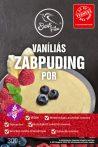 SZAFI FREE VANÍLIÁS ZABPUDING POR 300G